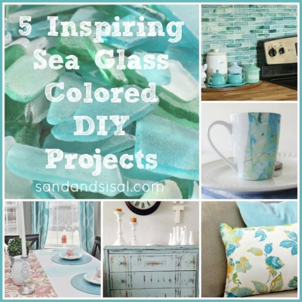 Sea Glass Colored Crafts & DIY