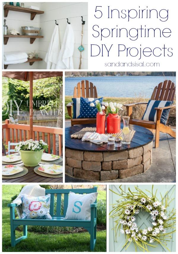 5 Inspiring Springtime DIY Projects