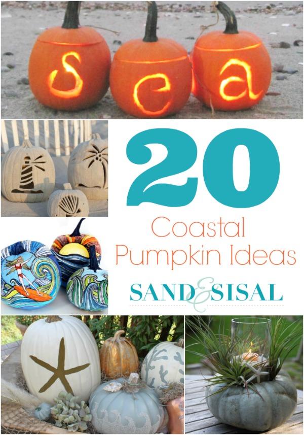 20 Coastal Pumpkin Ideas