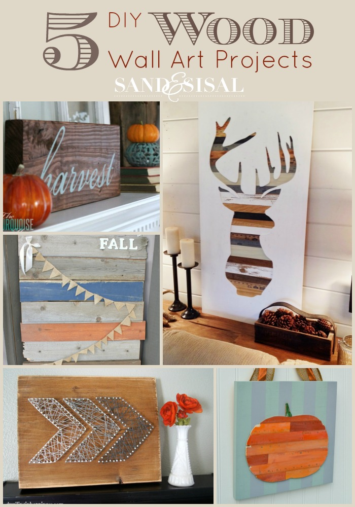 Wall Art Diy Projects : Diy wood wall art projects sand and sisal
