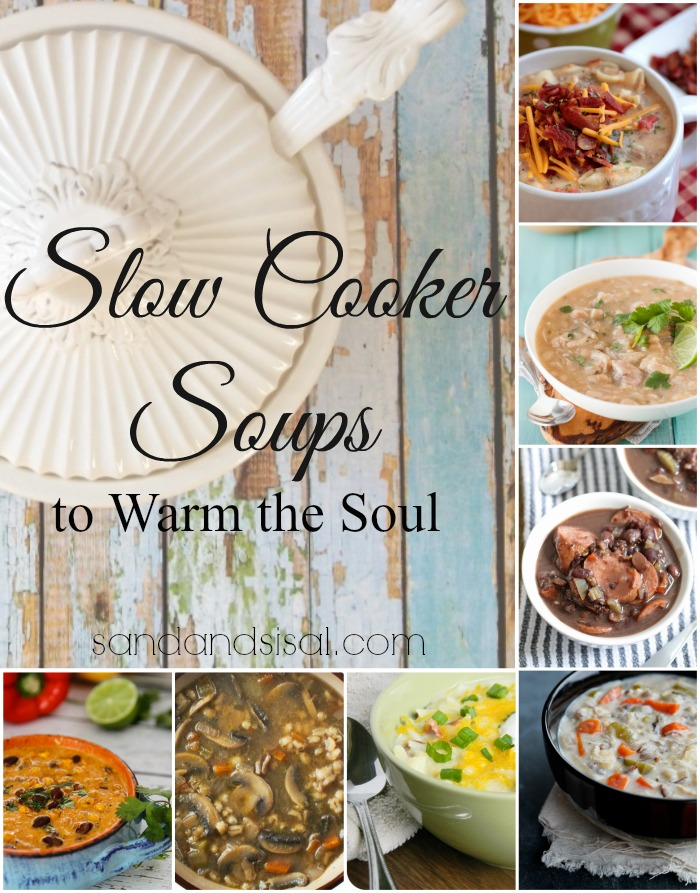 7 Slow Cooker Soups to Warm the Soul